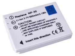 Baterie Fujifilm NP-30, 3,6V (3,7V), 565mAh, 2,1Wh