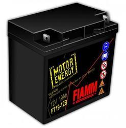 Fiamm FT19-12B, 12V, 19Ah, AGM - baterie pro sekačky - 1