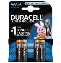 Baterie Duracell Ultra Power MX2400, AAA, (Blistr 4ks) - 1