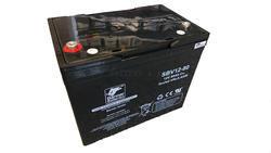 Záložní baterie SBV 12-80, 12V, 80Ah - rounová (životnost 10 let)