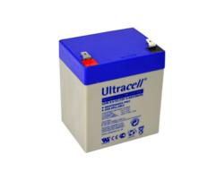 Staniční (záložní) baterie Ultracell UHR5,4-12, F2, 5,4Ah,12V, VRLA  - 1