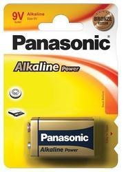 Baterie Panasonic Alkaline Power, 6LR61, 9V, (Blistr 1ks) - 1
