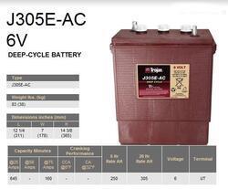 Trakční baterie Trojan J 305 E, 305Ah, 6V - průmyslová profi - 2