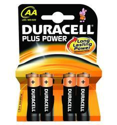 Baterie Duracell Plus Power MN1500, AA, (Blistr 4ks) - 2