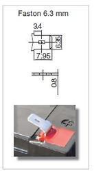 Olověný akumulátor Fiamm 12 FGH 23, 5Ah, 12V, (faston 250) - 2