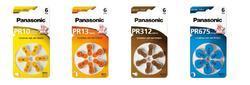 Baterie do naslouchadel Panasonic PR312(41)/6LB, Zinc-Air (Blistr 6ks) - 2