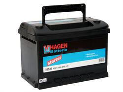 Autobaterie Hagen 65Ah, 12V, 540A - 2