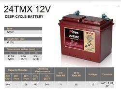 Trakční baterie Trojan 24TMX , 85Ah, 12V - průmyslová profi - 2