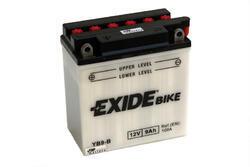 Motobaterie EXIDE BIKE Conventional 9Ah, 12V, YB9-B - 2