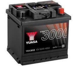 Autobaterie Yuasa YBX3000, 52Ah, 12V, 450A (YBX3012) - 2