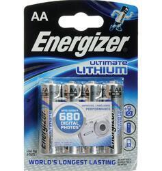 Baterie Energizer Ultimate AA, L91, Lithium, 35035752, (Blistr 4ks) - 2