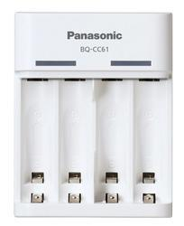 Nabíječka Panasonic Eneloop USB-in Charger BQ-CC61E + 4xBK-3MCCE, AA, 1900mAh - 2