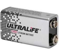 Baterie ULTRALIFE U9VL-J-P, 9V, 1200mAh (Lithium-Thionychlorid) - 2
