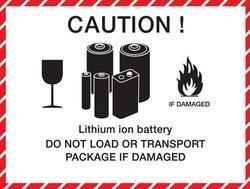 Baterie Sanyo 18500, 1620mAh, 3,7V, Li-ion, nabíjecí - 2