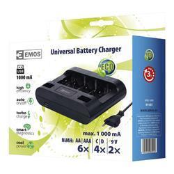 Nabíječka baterií GP UNI6 (N9168S) - 2