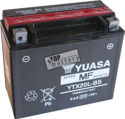 Motobaterie YUASA YTX20L-BS, 12V, 18Ah - 2