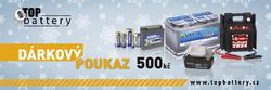 Dárkový poukaz v hodnotě 500Kč - 2