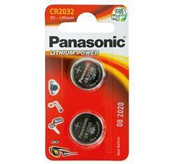 Baterie Panasonic CR2032, Lithium, 3V, CR-2032EL/2B, 2B380562, (Blistr 2ks) - 2