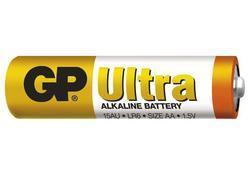 Baterie GP 15AU Ultra Alkaline, R6, AA, (Blistr 8ks), 6+2 extra - 2
