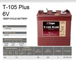 Trakční baterie Trojan T 105 Plus (3 / 9 GiS 197 BS Plus, 225Ah, 6V - průmyslová profi - 2