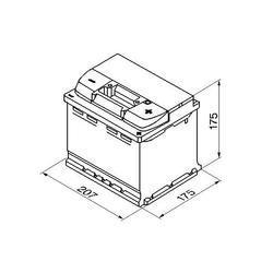 Autobaterie VARTA Silver Dynamic 52Ah, 12V, 520A, (C6) - 2
