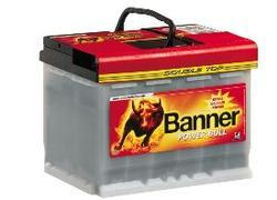 Autobaterie Banner POWER BULL PROfessional P63 40, 63Ah, 12V, 600A (P6340) - 2