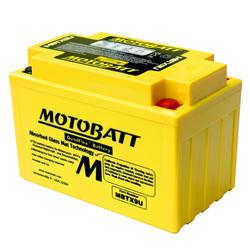 Motobaterie Motobatt MBTX9U, 12V, 10,5Ah, 160A (YTX9-BS, YT12A-BS, YTZ12S, YTZ14S) - 2