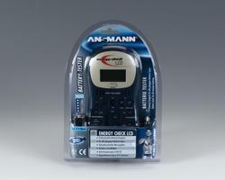 Digitální zkoušečka (tester) baterií Ansmann Energy Check LCD - 2