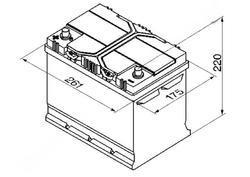 Autobaterie Banner Power Bull P70 24, 70Ah, 12V, 570A (P7024) - Levá - 2