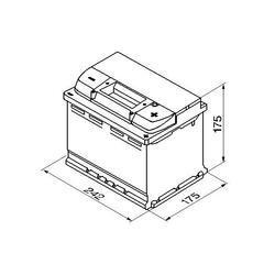 Autobaterie VARTA Silver Dynamic 61Ah, 600A, 12V (D21) - 2