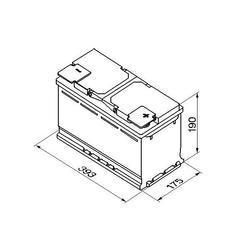 Autobaterie VARTA Silver Dynamic 110Ah, 12V, 920A, (I1) - 2