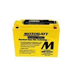 Motobaterie Motobatt MBTX24U, 12V, 25Ah, 300A (12N18-3, Y50-N18L-A3, YTX24HL-BS) - 3