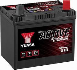 Baterie Yuasa Garden U1R 30Ah, 270A, baterie pro zahradní techniku (Plus vpravo) - 3