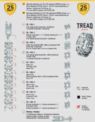Leatherman TREAD™ Metric, multitool náramek, černý - 3