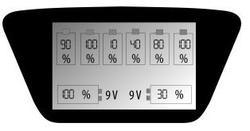 EverActive NC-900U nabíječka pro AA/AAA/C/D/9V baterií, Ni-CD, Ni-Mh - 3