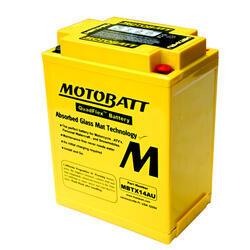 Motobaterie Motobatt MBTX14AU, 12V, 16,5Ah, 190A (YB14L-A2, 12N14-3A) - 3