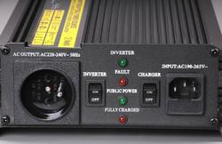 Měnič+dobíječ z 12V DC na 230V AC 1000W trvale - 3