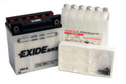 Motobaterie EXIDE BIKE Conventional 9Ah, 12V, YB9-B - 3