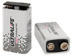 Baterie ULTRALIFE U9VL-J-P, 9V, 1200mAh (Lithium-Thionychlorid) - 3