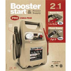 Startovací Booster GYS Pack 750, 12V/2500A (026179) - 3