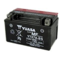 Motobaterie YUASA YTX7A-BS, 12V, 6Ah - 3