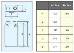 Baterie Panasonic Pro Power, 6LR61, 9V, (Blistr 1ks) - 3