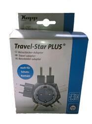 Cestovní adaptér Travel-Star plus Kopp, 1774.1501.0, 250 V/AC, 16A - 3