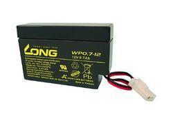Baterie Long 12V, 0,7Ah olověný akumulátor AMP - 4