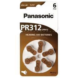 Baterie do naslouchadel Panasonic PR312(41)/6LB, Zinc-Air (Blistr 6ks) - 4
