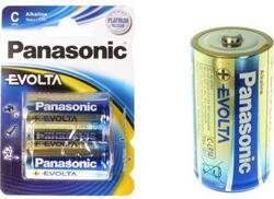 Baterie Panasonic Evolta Alkaline, LR14, C, (Blistr 2ks) - 4
