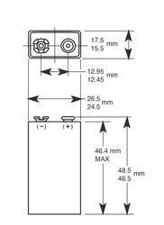 Baterie Duracell Professional Alkaline Industrial MN1604, 6LR61, 9V, 1ks - 4