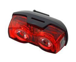 EverActive TL-X2 zadní světlo na kolo 1 LED, 2 LED, blikající, vodotěsné, 2x AAA - 4