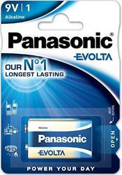 Baterie Panasonic Evolta Alkaline, 6LR61, 9V, (Blistr 1ks) - 4