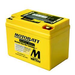 Motobaterie Motobatt MBTX4U, 12V, 4,7Ah, 70A (YB4L-B, YB4L-A,YTX4L) - 4